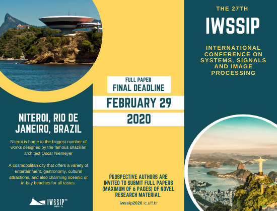 IWSSIP 2020 | Call for Papers [Final Extension]